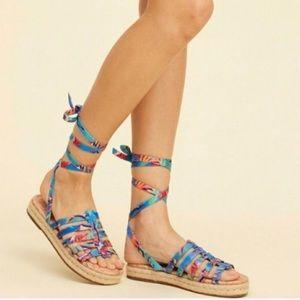 Sam Edelman Circus espadrille flats sandals 7.5